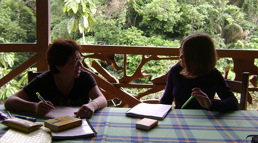Our Spanish Courses in The Amazon Jungle