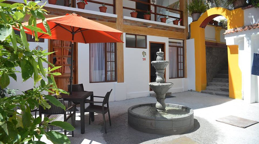 Accommodation at a Hostel/Hotel in Otavalo